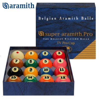 Шары Aramith Super Aramith Pro-Cup TV Pool 57,2мм