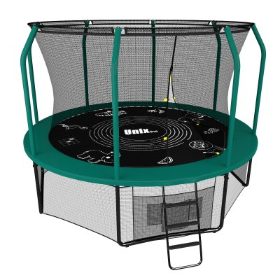 Батут Unix line 10 ft Supreme Game (green)